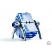 Durable Kartoteka obrotowa VISIFIX® flip na 400 wizytówek srebrna