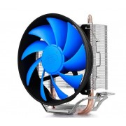 DeepCool GAMMAXX200T UNI kuler >95W 120mm.Fan 900~1600rpm 54CFM 18~26dBa LGA 1156/775/K8/AM 2xpipes