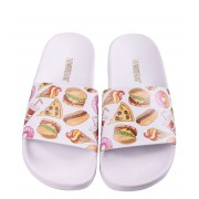 The White Brand Slippers Burgers Wit