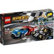 Lego speed champions ford gt 2016 e ford gt40 1966