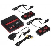 Retro-Bit RB-NES-1743 Retro Entertainment System, Black/Red Standard Edition