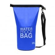 Vodotěsná taška 20L modrá