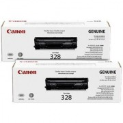 Canon 328 VP DUAL PACK LASERJET TONER Single Color Toner(Black)