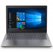 Лаптоп Lenovo IdeaPad 330, 15.6 инча FullHD, 4GB DDR4, 128GB SSD, USB-C, HDMI, WiFi, Черен, 81DC00K4RM