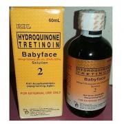 RDL baby face 2 anti acne/ keratolytic depigmentin anti spot astringent