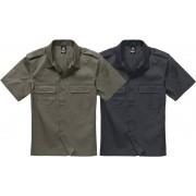 Brandit US Hemd, Halbarm, Farbe oliv, Gr.7XL