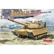 Meng Model 1:35 - M1a1 Abrams Tusk Main Battle Tank