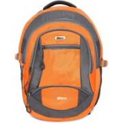Bleu 15 inch inch Expandable Laptop Backpack(Orange, Grey)