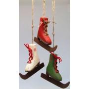 Decoracion patines madera 3 modelos surtidos | Ofertas decoración