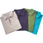 Poloshirt mit Reißverschluss, marine, Gr. XL
