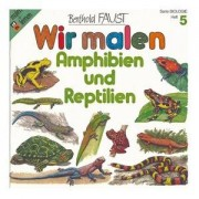 Buch: Wir malen ? Amphibien und Reptilien (Band 5)