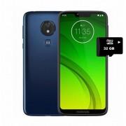Moto G7 power dual sim 4+64GB + REGALO MicroSD 32 GB -azul marino