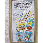 Kidz Cardz and Pick-up Sticks