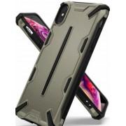 Protectie Spate Ringke Dual X 8809628563810 pentru iPhone Xs Max (Bej)