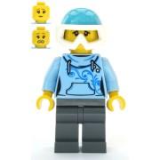 cty1088 Minifigurina LEGO City-Schior fata cty1088