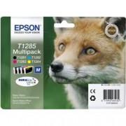 ORIGINAL Epson Multipack nero / ciano / magenta / giallo C13T12854012 T1285 4 cartucce d'inchiostro: T1281 + T1282 + T1283 + T1284