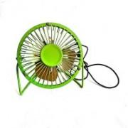 KRISHNAGALLERY1 Solid Green Hand Fan(Pack of 1)