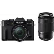 Fujifilm X-T20 + 16-50mm OIS II + 50-230mm OIS II - Zwart