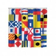 Zászló mintás zuhanyfüggöny