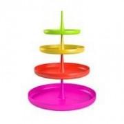 Zak!Designs Etagere multicolor 4-delig