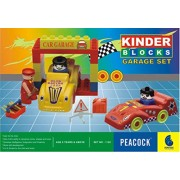 Peacock Kinder Blocks Car Garage Safe and Non Toxic Toys of Childrans