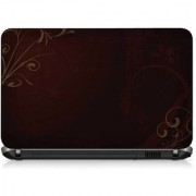 VI Collections BLACK SOLID pvc Laptop Decal 15.6