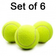 Set Of 06 Tennis Ball