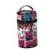 Penar echipat cu 52 piese Monster High All Stars