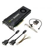 TARJETA GRAFICA PNY NVIDIA QUADOR K5200 de 8GB GDDR5 PCIe3.0 GPU (VCQK5200-PB)