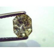 2.28 Ct Unheated Untreated Natural Ceylon Yellow Sapphire/Pukhraj