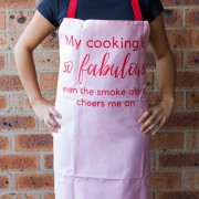 My Cooking Is So Fabulous Apron