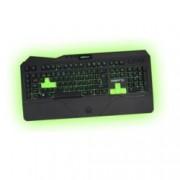Клавиатура KEEPOUT F89CH, гейминг, 12 клавиша за мултимедиен контрол, 5 програмируеми клавиша за макроси, черна, USB