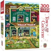 MasterPieces Town & Country The Old Country Store Large 300 Piece EZ Grip Jigsaw Puzzle by Art Poulin