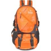 Hot Shot Waterproof Air bags men Rucksack - 60 L(Orange)