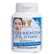 Celsus Prémium Extra Magnézium + B6-vitamin kapszula Q1 + Q10 koenzimmel 30db