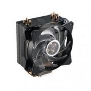 Охлаждане за процесор Cooler Master MasterAir MA410P, съвместимост с Intel LGA 2066/2011-3/2011/1366/1156/1155/1151/1150 & AMD AM4/AM3(+)/AM2(+)/FM2(+)/FM1, RGB подсветка с контролер