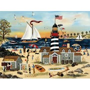 Ceaco Jane Wooster Scott - Beacon on The Beach Puzzle