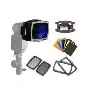 Pachet Godox Mini TT350S Blit TTL pentru Sony Lastolite Strobo Kit Magnetic P