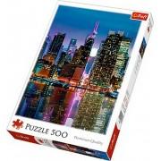 Puzzle clasic - Luna plina in Manhattan 500 piese