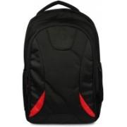 Swiss Gem Unisex Laptop Backpack for Upto 15.6-inch Laptops (Black) Laptop Bag(Black)