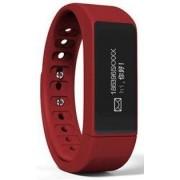Bratara Fitness Cronos Hebe Pro, Se sincronizeaza cu telefonul prin bluetooth, afiseaza identitate apelant, receptionare SMS, functie de ceas desteptator, cronometru, pedometru, monitorizare somn, calorii (Rosu)