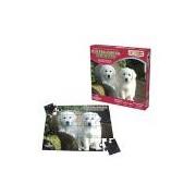Quebra-Cabeça Ecológico Cachorro, 24 Peças em Madeira, Embalagem Caixa Cartonada Ciabrink