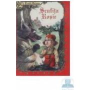Scufita Rosie cartonata - Fratii Grimm