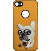 Skin iPhone 6/6S Lemontti Embroidery Orange Puppy