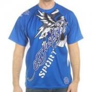 Camiseta Ed Hardy Masculina Azul
