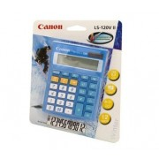 Canon LS120VIIB Calculator - Mini Desktop Calculator - Blue