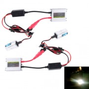 2PCS 35W 9006 2800 LM Slim HID Xenon Light with 2 Alloy HID Ballast High Intensity Discharge Lamp Color Temperature: 8000K