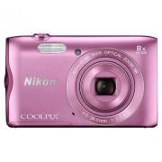 Nikon Produkt z outletu: Aparat NIKON COOLPIX A300 Różowy
