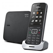 Siemens Gigaset SL450 Analog/DECT telephone Identificatore di chiamata Nero