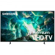 Televizor LED Samsung 65RU8002, 163 cm, 4K Ultra HD, Dolby Digital Plus (20W), Procesor Quad-core, Smart TV, Wi-Fi, Bluetooth de energie scazuta, CI+, Clasa energetica A+, Negru